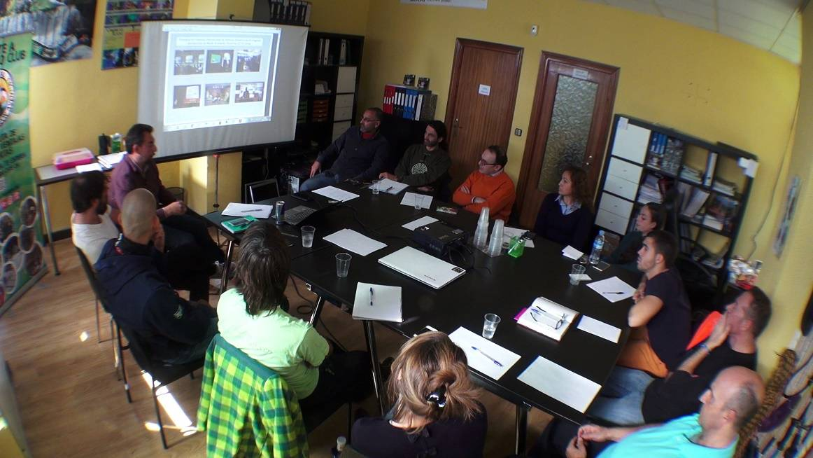 Reunión del equipo organizador, Asdon Eventos