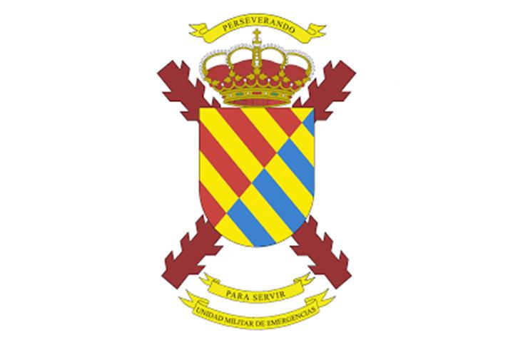Team Building y eventos para empresas, Logo de Unidad Militar Emergencia